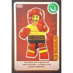 Carte Lego Auchan Livre.Le Boxeur Cartes Lego Auchan Cree Ton Monde 013