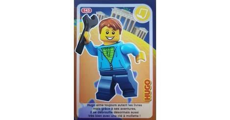 Carte Lego Auchan Livre.Hugo Cartes Lego Auchan Cree Ton Monde 143