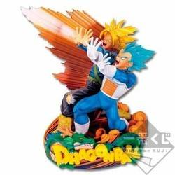 Vegeta & Trunks Master Stars Diorama