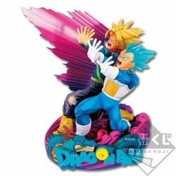 Vegeta & Trunks Master Stars Diorama (purple)
