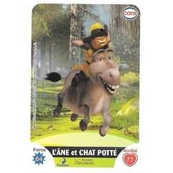 Carte L ANE ET LE CHAT POTTE (Shrek)