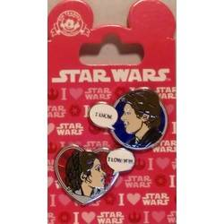 Star Wars Han Leia Love U