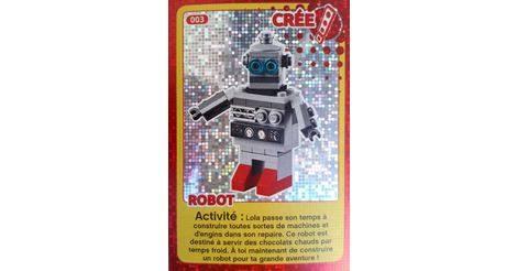 Carte Lego Auchan Livre.Robot Cartes Lego Auchan Cree Ton Monde 003