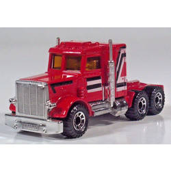 Lesney Peterbilt Semi Tractor Cab Red HTF