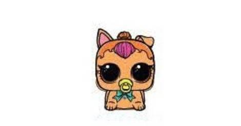 Neon Puppy Lol Surprise Biggie Pets Eye Spy Action Figure