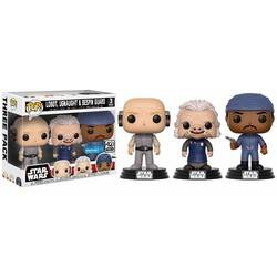3 Pack - Lobot, Ugnaught & Bespin Guard