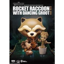 Rocket Raccoon with Dancing Groot