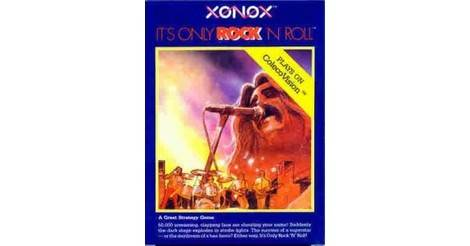 It's Only Rock 'N Roll - ColecoVision game