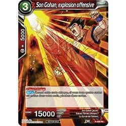 Son Gohan, explosion offensive