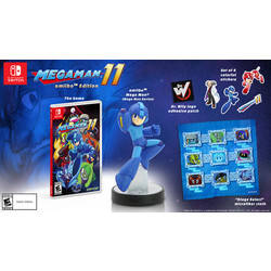 Mega Man 11 - Amiibo Edition