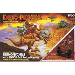 Deinonychus with Antor