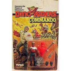 Dino Riders Commando Bomba