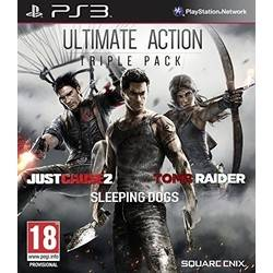 Ultimate Action Triple Pack : Tomb Raider + Just Cause 2 + Sleeping Dogs