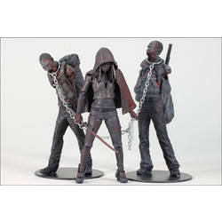 Bloody Black and White Michonne 3 Pack