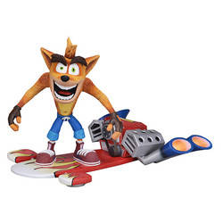 Crash Bandicoot - Crash Bandicoot deluxe Crash with Jet Board