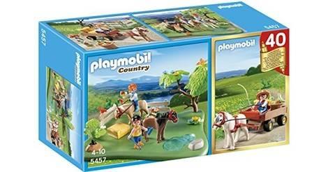 Playmobil farm t3217 man-equestrian /& driver of the horse 3117