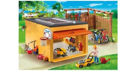 Garage With Bicycle Parking Playmobil Houses And Furniture 9368