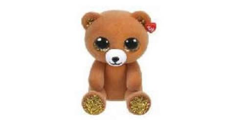 TY Beanie Mini Boo CRACKER the Bear Series 3