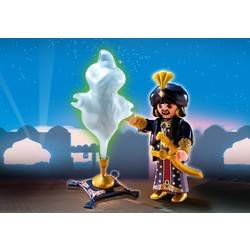 Magician with Genie Lamp