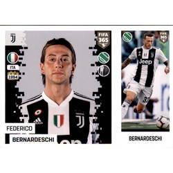 337 2018 Panini Fifa 365 - Federico Bernardeschi Juventus no