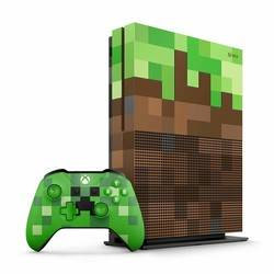 Xbox One S 1To - Limited Edition Minecraft
