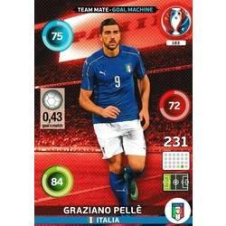 183 GRAZIANO PELLE ITALIA CARD ADRENALYN EURO 2016 PANINI