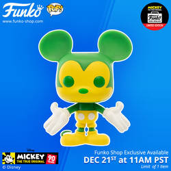 Disney - Mickey Mouse Green & Yellow