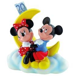 Tirelire Mickey & Minnie Lune