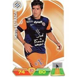 MARCO ESTRADA # CHILE MONTPELLIER HERAULT.SC CARD PANINI ADRENALYN 2012