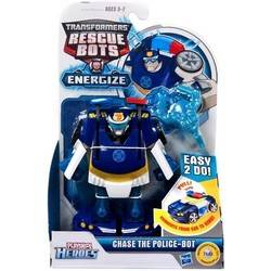 Transformers Rescue Bots Energize - Chase The Police-Bot