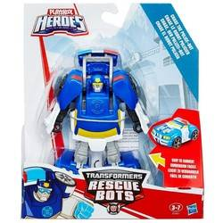 Transformers Rescue Bots - Chase The Police-Bot