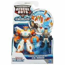 Transformers Rescue Bots Energize - Blades The Copter-Bot & Dr. Morocco