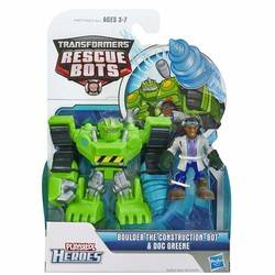 Transformers Rescue Bots Energize - Boulder The Construction-Bot & Doc Green