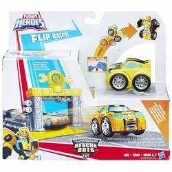 Transformers Rescue Bots Flip Racers - Bumblebee