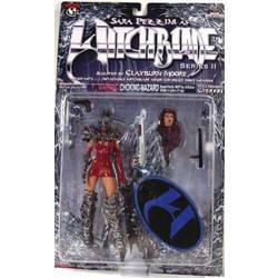 Sara Pezzini as Witchblade Series II Red Dress