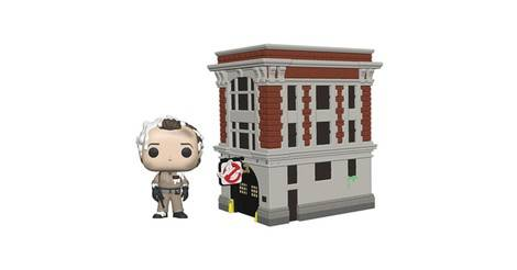 818b840f21 Ghostbusters - Dr. Peter Venkman with Fire House - POP! Town action figure