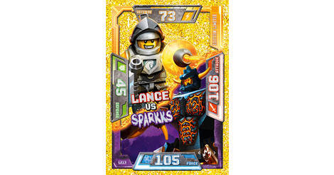 Ultra Clay-Ultra carte Lego Nexo Knights cartes de collection 5