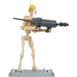Battle Droid COMMANDER Firing Blaster!
