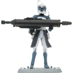 Clone Commander WOLFFE Firing Rocket Launcher!