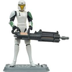 Clone Trooper HEVY in Training Armor Cannon Fires Missile!