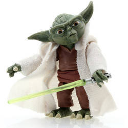 YODA includes Lightsaber!