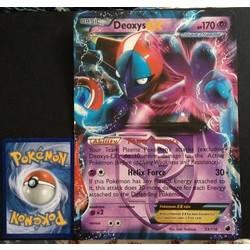 Deoxys ex 53//116 jumbo Pokémon card