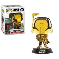 Star Wars - Boba Fett Gold Chrome