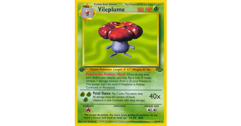 Pokemon Jungle Rare Card #31//64 Vileplume