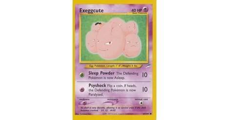 2002 pokemon 1st edition Exeggcute 64//105