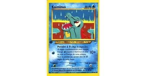 POKEMON NEO DESTINY N°  85//105 KAIMINUS