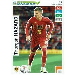 Carte Panini ADRENALYN XL UEFA road to euro 2020 EDEN HAZARD Belgique Belgium