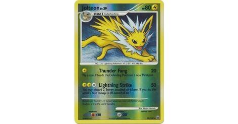 23//100 Good Majestic Dawn Pokemon Card Jolteon