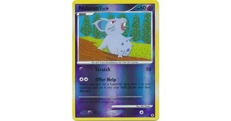 pokemon platinum rivals rivals Nidoran female-niv.14-60pv 71//111