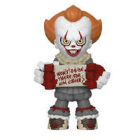 Pennywise with a skateboard